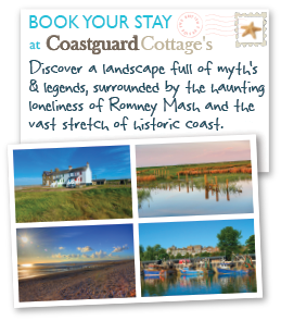 twin postcard coastguards