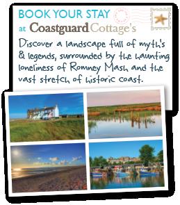 twin postcard coastguards