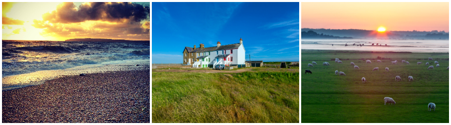 Coastguards cottages Camber
