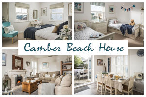 Camber Beach House holiday let