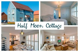 Half Moon Cottage, Camber Sands, East Sussex