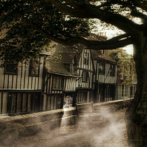 ghostly church square Rye