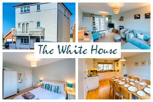 The White House – 4 Bed Family Cottage in Camber Sands