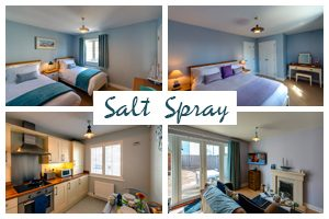 Salt Spray Camber Sands Holiday Cottage