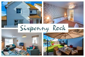 Sixpenny Rock Camber Sands Holiday Cottage