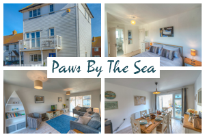 paws by the sea cottage