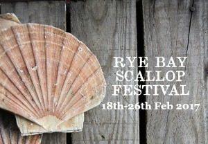 Rye Bay Scallop Week 18th-26th Feb 2017