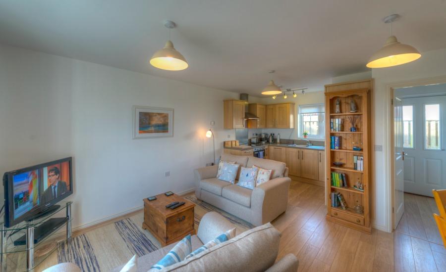 Rufty Tufty open plan living area