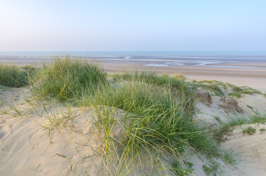 Camber Sands view from the dunes