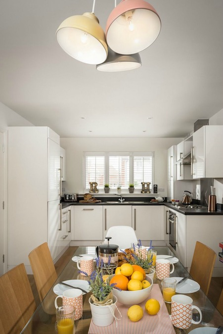 rye bay house open plan kitchen diner