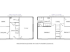 Kittiwake Cottage floorplan