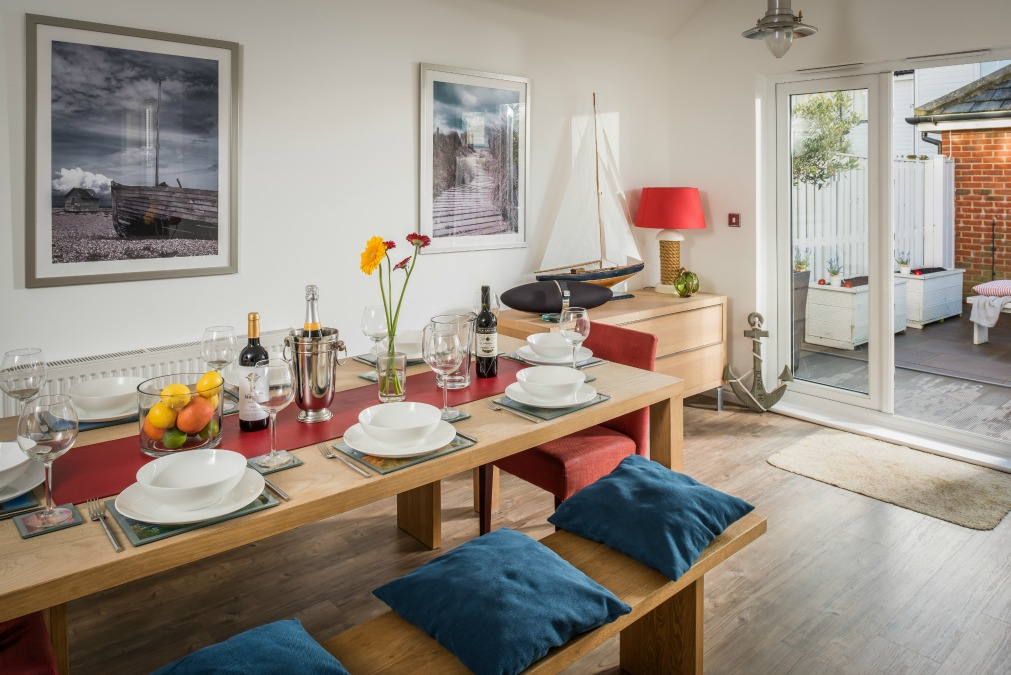 Upgrade from a Camber Sands Holiday Park to a Cottage by the Sea