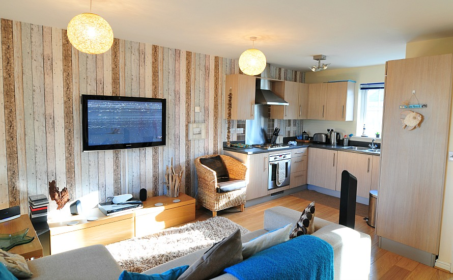 Seabreeze open plan living area