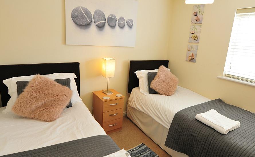 Seabreeze twin room
