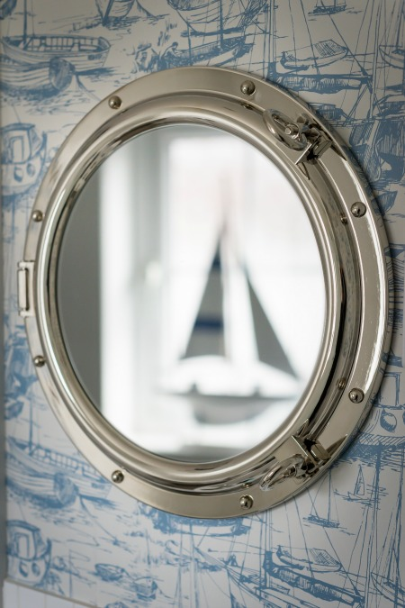 Seasalt porthole mirror