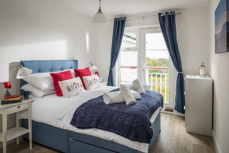 SaltyTowers first floor bedroom