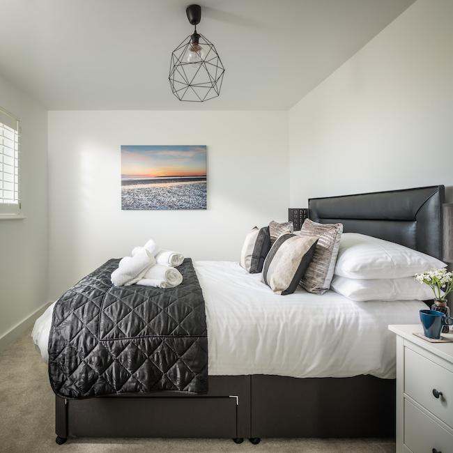 SaltyTowers master bedroom