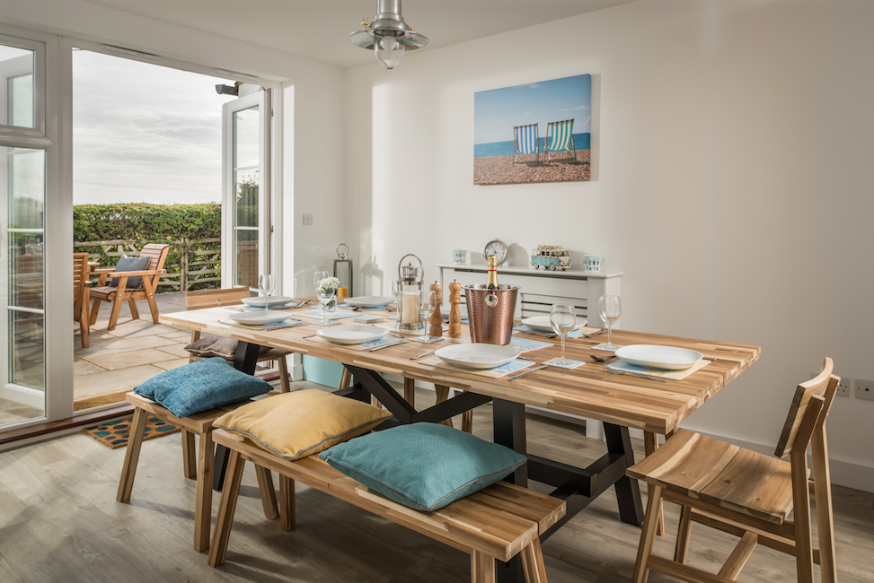 SaltyTowers dining table
