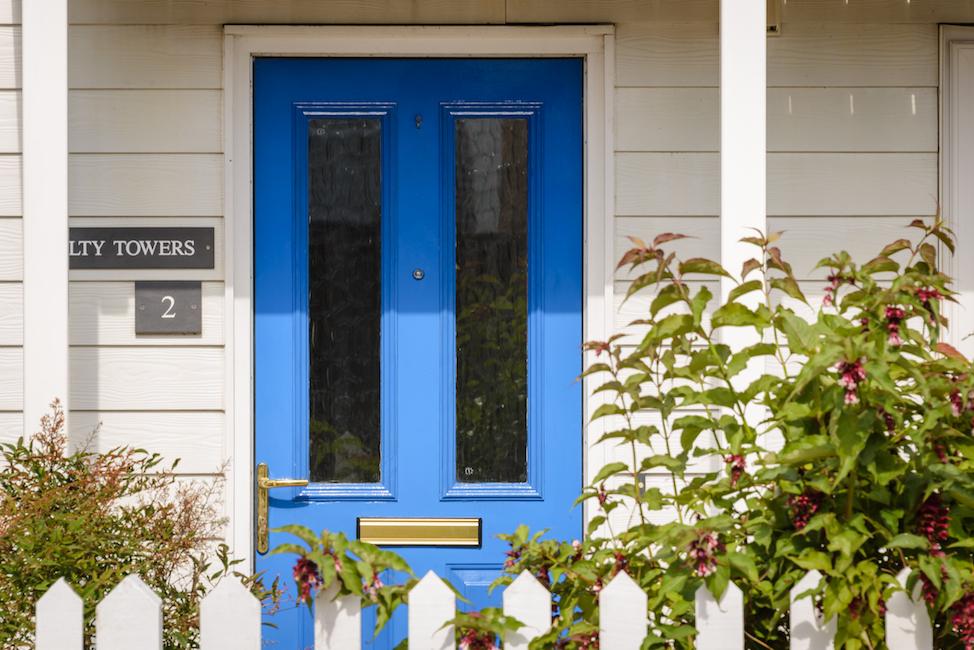 SaltyTowers front door