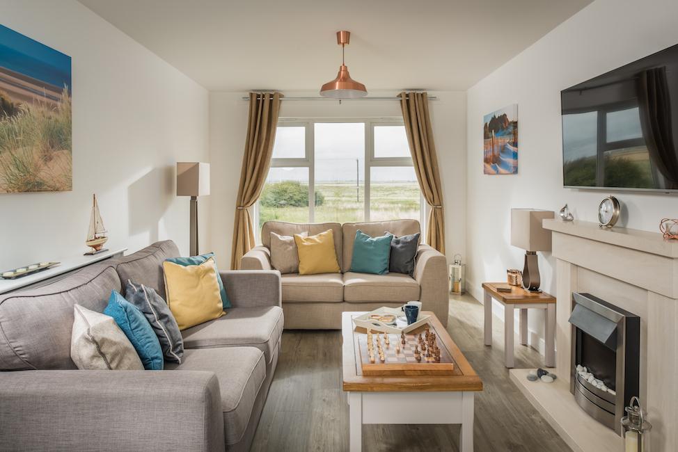 SaltyTowers living room view