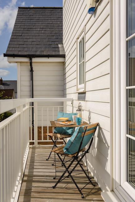 SaltyTowers balcony