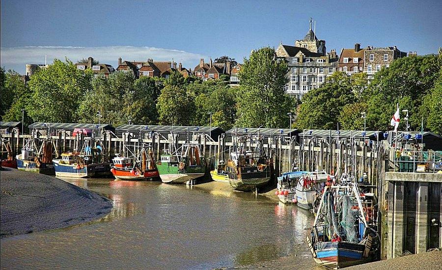 rye fishing boats