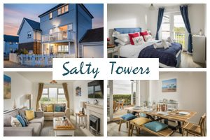 Salty Towers postcard