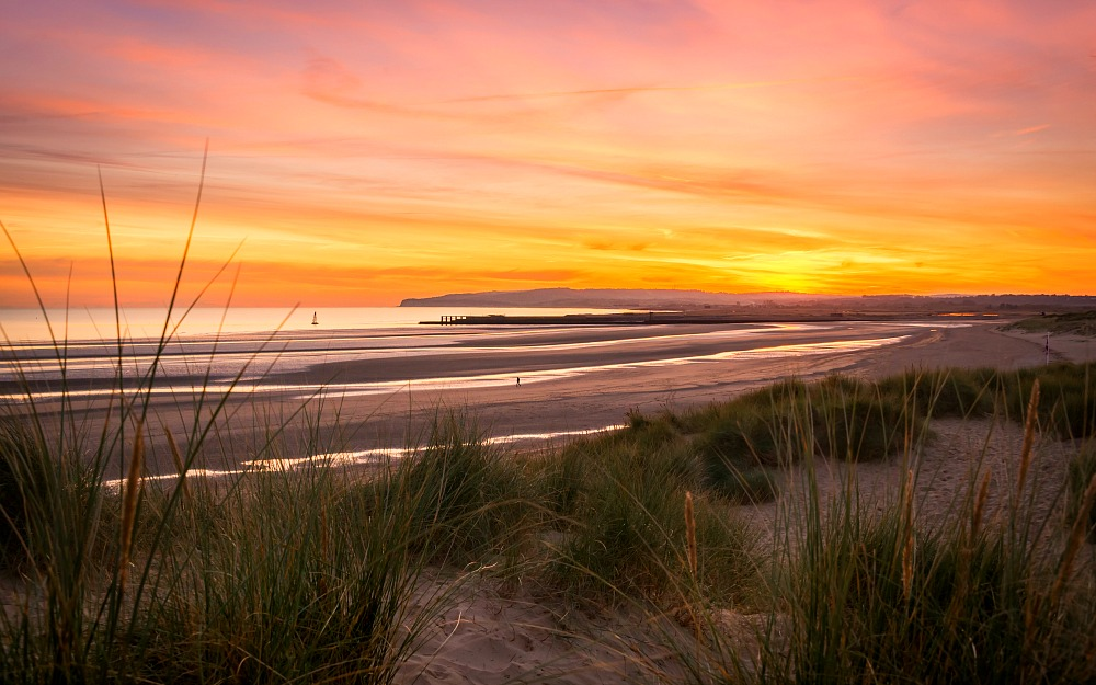 autumn sunset camber