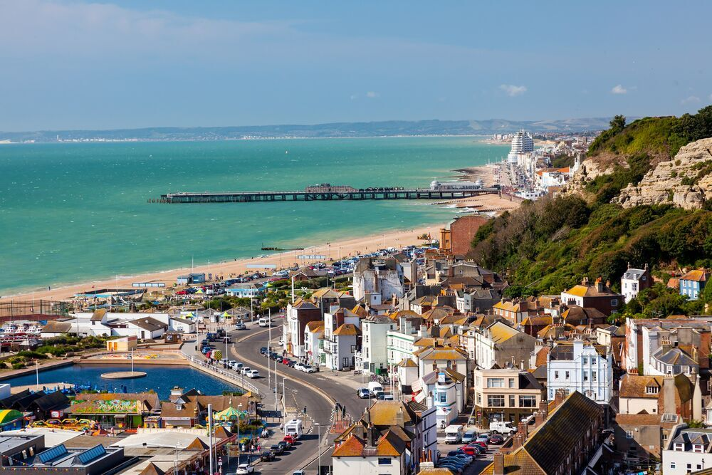 Hasting, just a short drive from camber sands