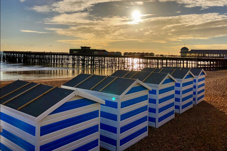 Hastings Pier in November