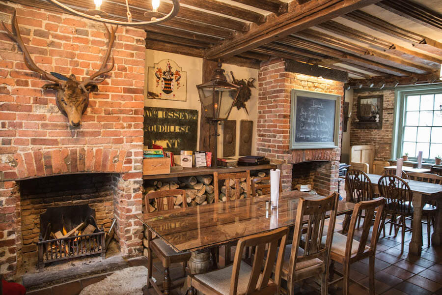 cosy winter pubs