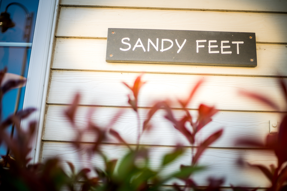 sandy feet Camber Sands accommodation