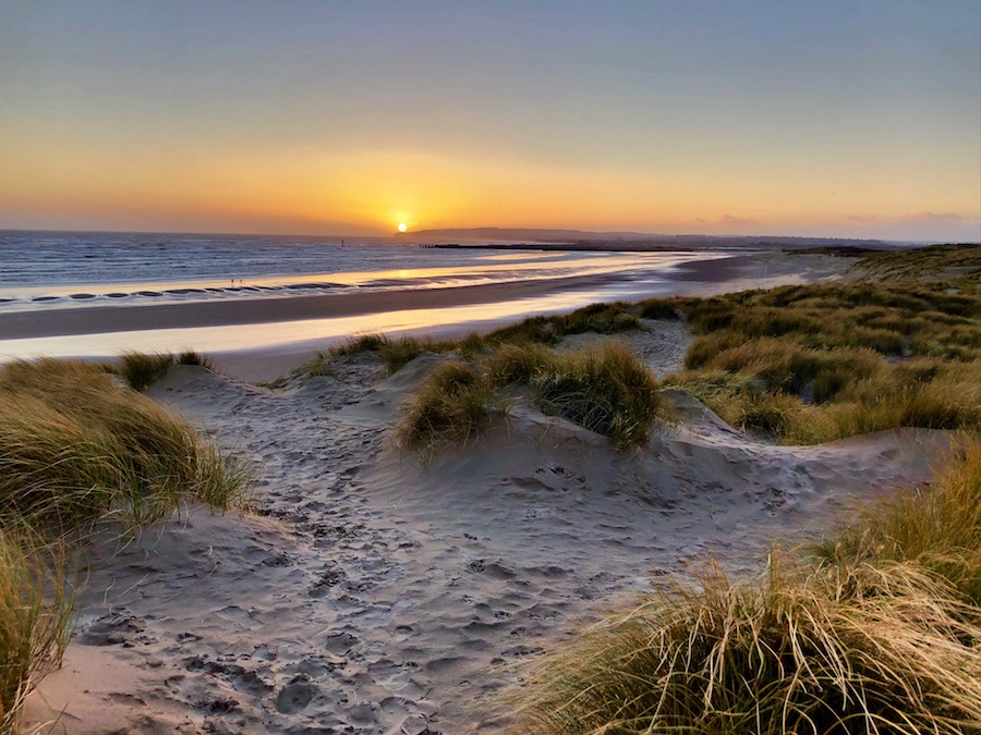 Camber Sands Sundown