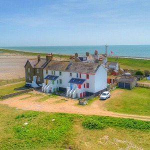 Discover Delightfully Unusual Accommodations on a UK Beach