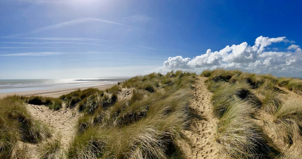 stroll through the dunes