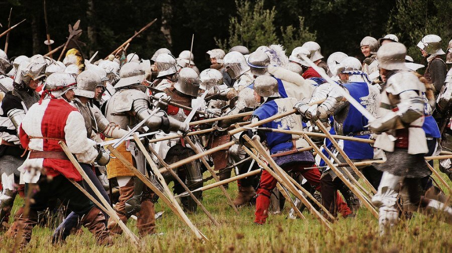 battle re-enactment