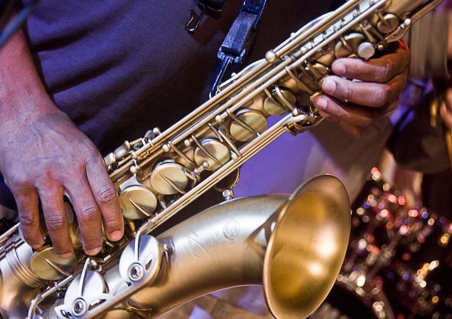 Saxophone at Rye Jazz Festival