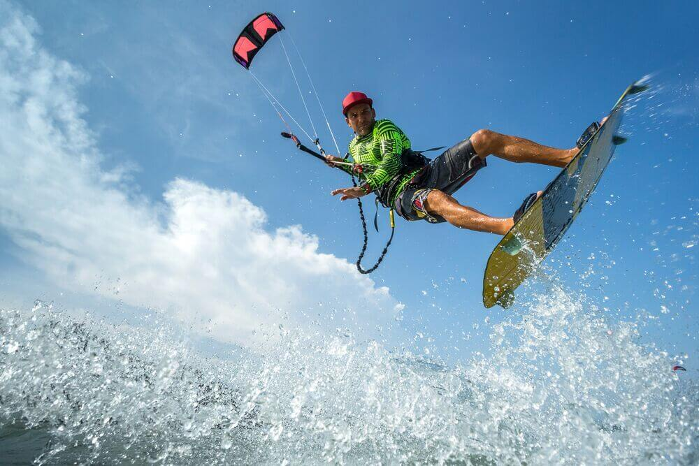 Best UK beaches for kitesurfing