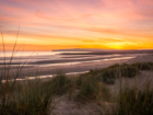 autumn skies over camber sands