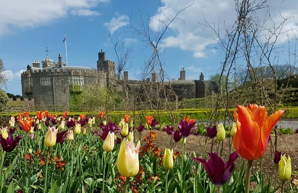 Walmer Castle, a famous castle in England