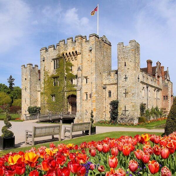 Hever Castle, a famous castle in England