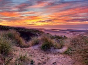 Enjoy the Beauty of 2018 Autumn in Camber Sands