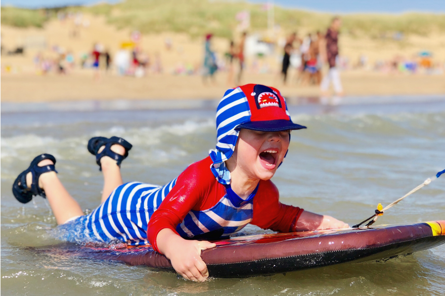 camber sands for kids