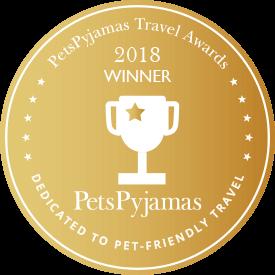 PetsPyjamas Travel Awards Home from Home Winner