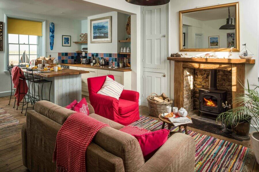 Award-winning dog-friendly cottage in Camber Sands