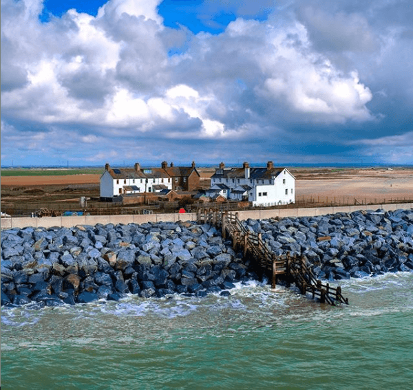 Luxury cottages by the sea