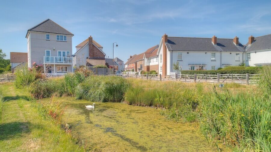 Summer cottages in Camber Sands