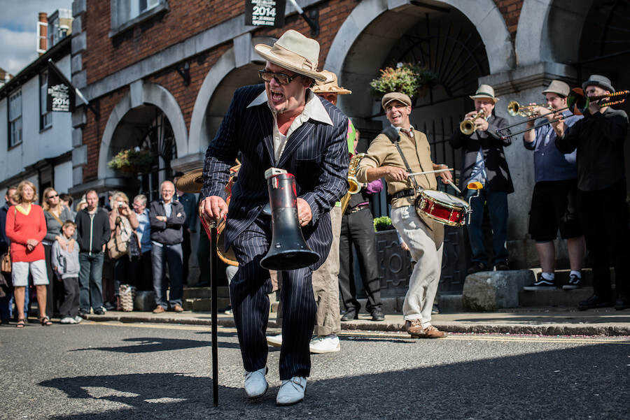 Dancing at Rye Jazz Festival 2019