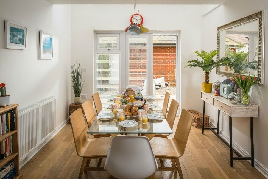 Rye Bay House, a large cottage to rent in Camber Sands, East Sussex