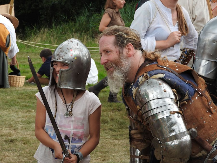 England's Medieval Festival for kids